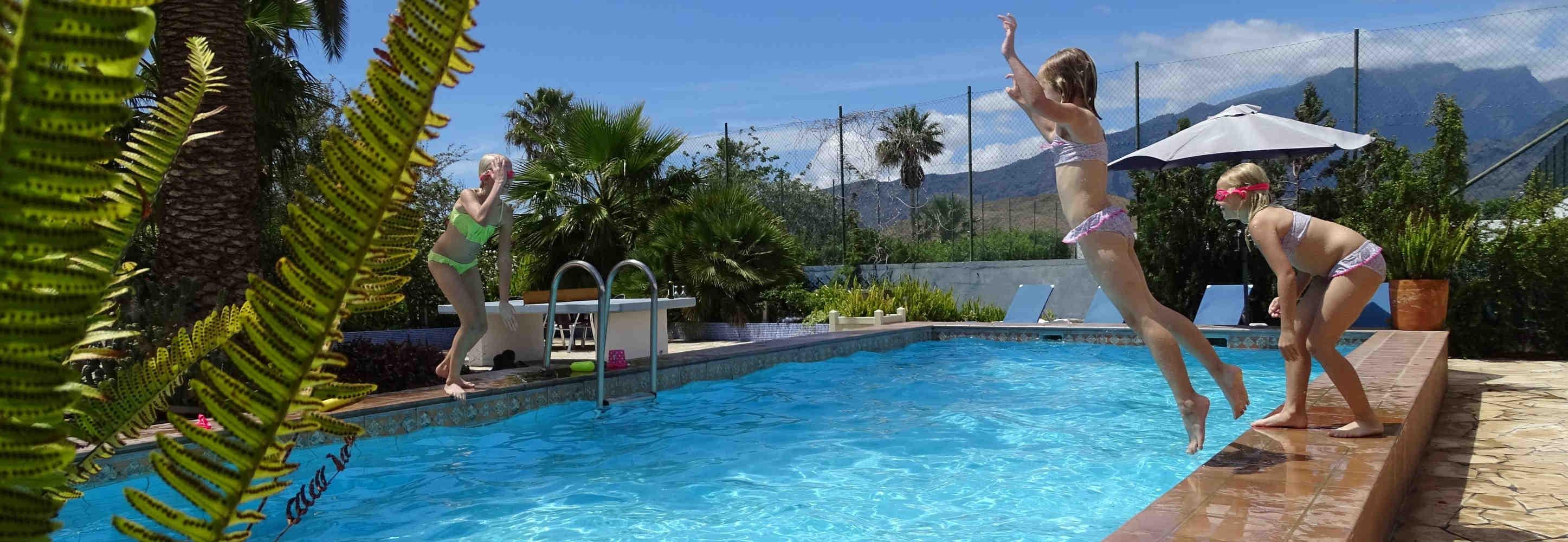 vakantiehuizen la palma met zwembad