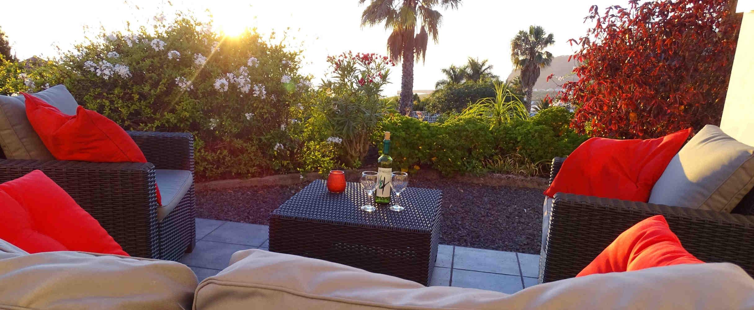 terras vakantiehuizen la palma